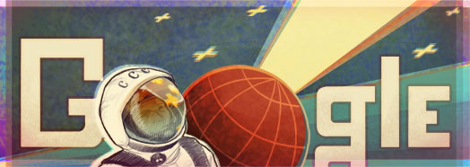 google manusia pertama di luar angkasa