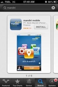 aplikasi Bank Mandiri Bank Terbaik di Indonesia